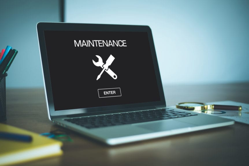 Maintaining your company's website